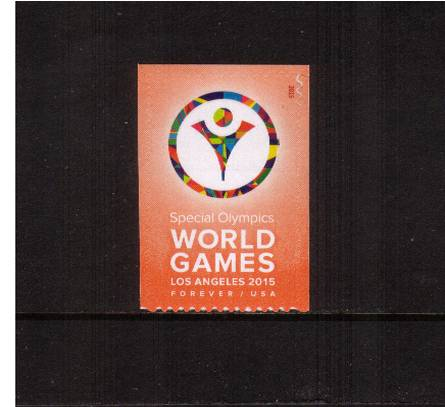 view larger image for  : SG Number  / Scott Number 4986 (2015) - Special Olympics World Games