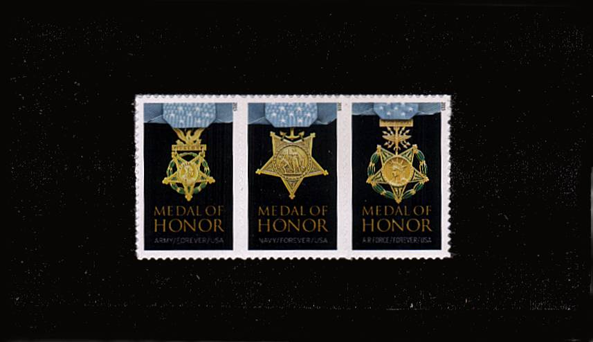 view larger image for  : SG Number  / Scott Number 4988a (2015) - Medal of Honor - Vietnam War<br/>
