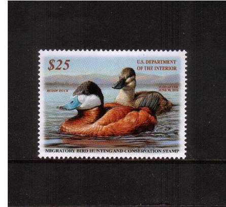 view larger image for Federal Ducks Federal Ducks: SG Number  / Scott Number $25 (2015) - Migratory Bird Hunting and Conservation Stamp