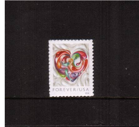 view larger image for Commemoratives 2015-2016 - Later Period Commemoratives: SG Number  / Scott Number 1st (49c) - 12 January 2016 (2016) - LOVE<br/>