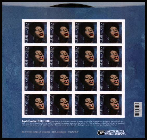 view larger image for Commemoratives 2015-2016 - Later Period Commemoratives: SG Number  / Scott Number 1st (49c x20) - 29 March 2016 (2016) - Music Icons Series<br/>