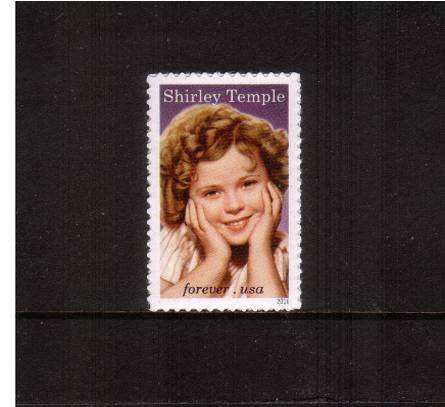 view larger image for Commemoratives 2015-2016 - Later Period Commemoratives: SG Number  / Scott Number 1st (49c) - 18 April 2016 (2016) - Legends of Hollywood - Shirley Temple <br/><br/>