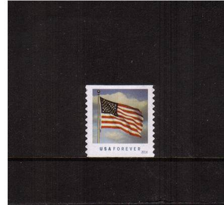 view larger image for New Issues New Issues: SG Number  / Scott Number 1st (49c) - 29 January 2016 (2016) - U.S. Flag<br/>