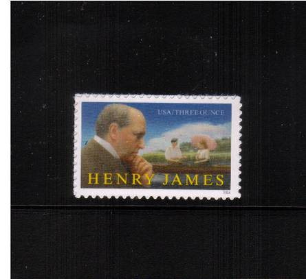 view larger image for Commemoratives 2015-2016 - Later Period Commemoratives: SG Number  / Scott Number Three Ounces (89c) - 31 July 2016 (2016) - Literary Arts - Henry James<br/>