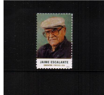 view larger image for Commemoratives 2015-2016 - Later Period Commemoratives: SG Number  / Scott Number 1st (47c) - 13 July 2016 (2016) - Jaime Escalante  - Educator