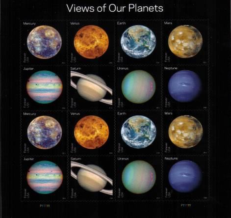 view larger image for Commemoratives 2015-2016 - Later Period Commemoratives: SG Number  / Scott Number 1st (47c x16) - 31 May 2016 (2016) - Views of Our Planets<br/>