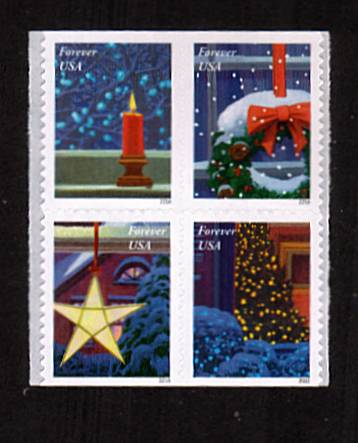 view larger image for Commemoratives 2015-2016 - Later Period Commemoratives: SG Number  / Scott Number 1st (47c x4)  - 6 October 2016 (2016) - Holiday Windows<br/>