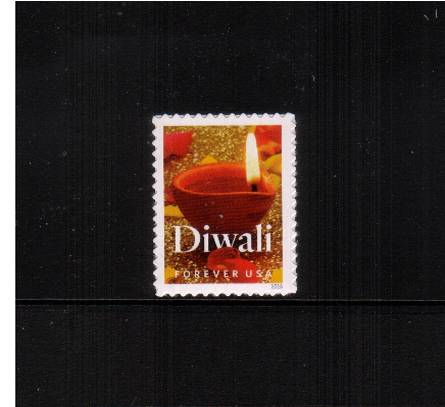 view larger image for Commemoratives 2015-2016 - Later Period Commemoratives: SG Number  / Scott Number 1st (47c) - 5 October 2016 (2016) - Diwali<br/>