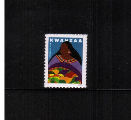 view larger image for Commemoratives 2015-2016 - Later Period Commemoratives: SG Number  / Scott Number 1st (47c) - 1 October 2016 (2016) - Kwanzaa<br/>