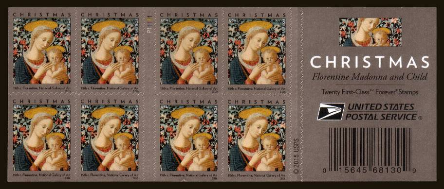 view larger image for Commemoratives 2015-2016 - Later Period Commemoratives: SG Number  / Scott Number 1st (47c x20) - ATM Flat Booklet - 18 October 2016 