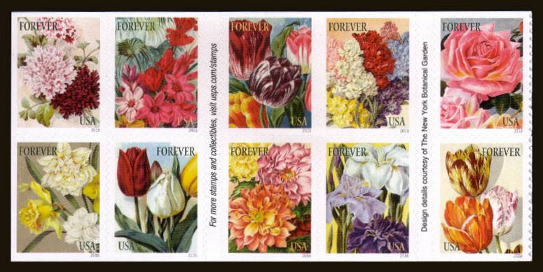 view larger image for  : SG Number  / Scott Number 5051a (2016) - Botanical Art<br/>