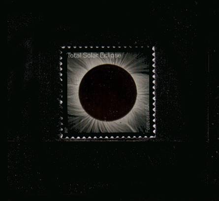 view larger image for  : SG Number  / Scott Number 5211 (2017) - Total Solar Eclipse<br/>
