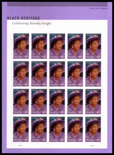 view larger image for  : SG Number  / Scott Number 5171v (2017) - Black Heritage - Dorothy Height<br/>